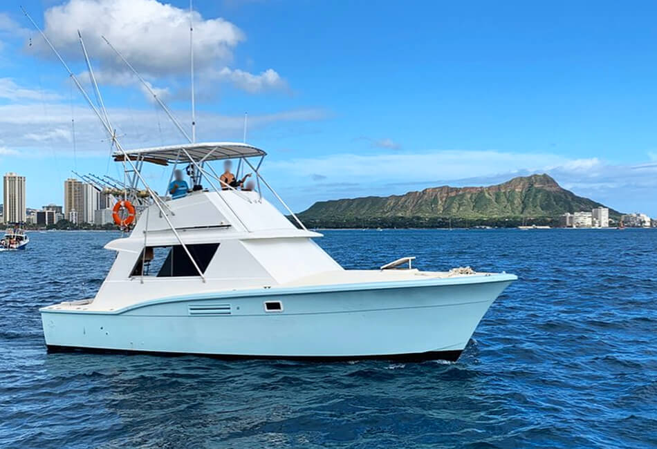 38 Ft Hatteras Sportfisher
